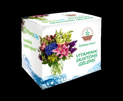 Vitaminai skintoms gėlėms